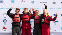 J/70 Denmark winning sailing league team