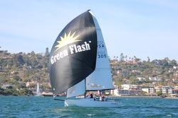 Green Flash beer- J/70 sponsor at San Diego Hot Rum series