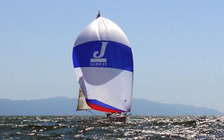 J/World J/80 sailing off Puerto Vallarta