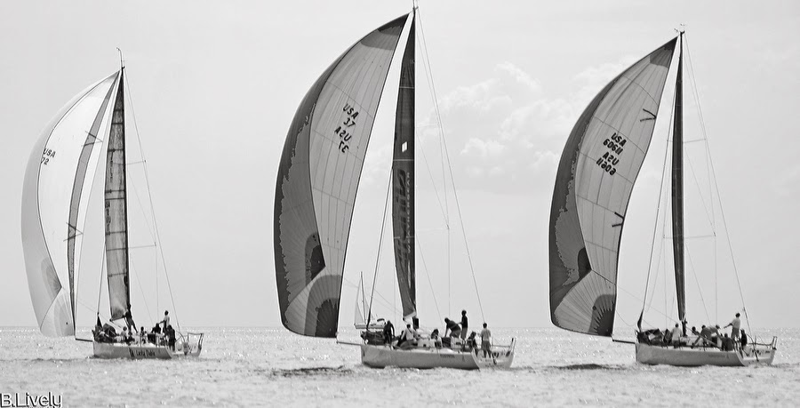 J/111s sailing one-design class