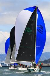 J/120s sailing San Francisco