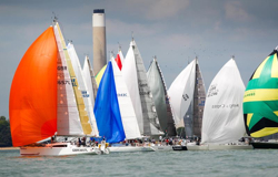 RORC Channel Race start