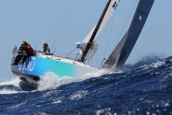 J/122 Liquid sailing RORC 600 race