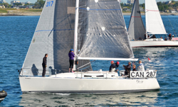 J/109 sailing Seattle