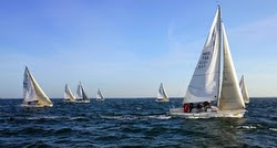 J/80 sailing Benelux Open Championship