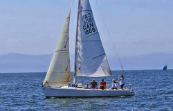 J/80s sailing Banderas Bay regatta