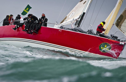 J/133 sailing Rolex Middle Sea Race