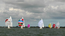 J/22s sailing Open Dutch Nationals