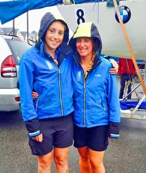 J/24 Poole Girls Sailing team
