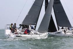 J/88s sailing J/Cup UK