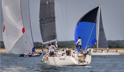 J/109 sailing Block Island
