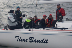 J/120 Time Bandit- sailing Oregon Offshore Race