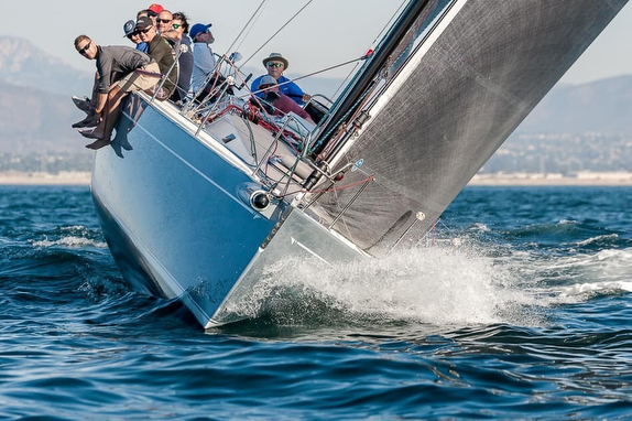J/145s crushing Cabrillo Race offshore
