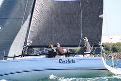 J/125 Resolute sailed by Tim Fuller