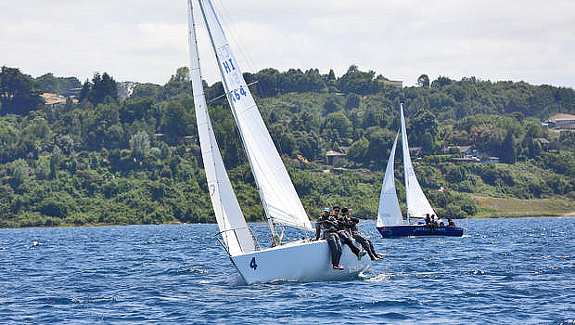 J24s on Llanquihue Lake