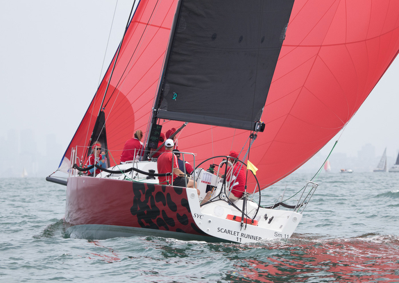 J/111 SCARLETT RUNNER Wins Lincoln Race Week