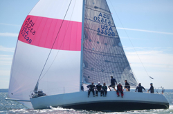 J/120 sailing Vineyard Race