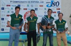 J/80 Spanish champions 2015- Da Bruno
