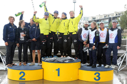 Swedish J/70 Sailing League- winners podium