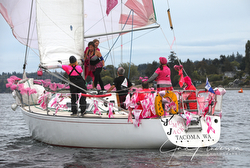 J/35 sailing Pink Regattas series in Seattle, WA