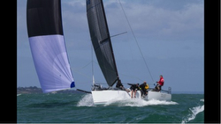 J/111 sailing fast- Melbourne, Australia Lipton Cup regatta