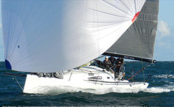 J/111 Joust sailing off Australia