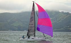 J/88 sailing Farallones race