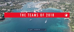 J/70 SAILING Champions League teams 2018