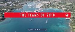 J/70 SAILING Champions League teams 2018