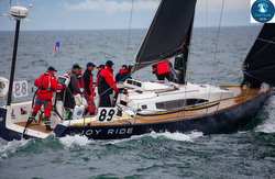 J/122E sailing Swiftsure Race