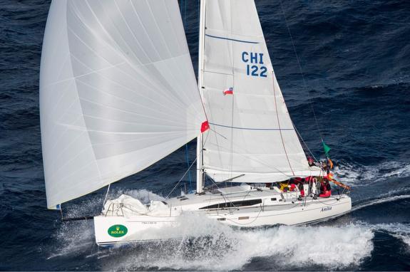 J/122E sailing Rolex Giraglia Cup Race