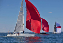 J/120s sailing Halifax Race