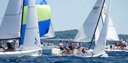 J/70s sailing Little Traverse Bay