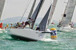 J/111 Mojito sailing Hong Kong China Coast regatta