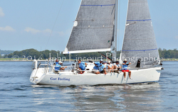 J/109 Gut Feeling- sailing J/Fest New England