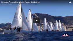 J/70s sailing YC Monaco