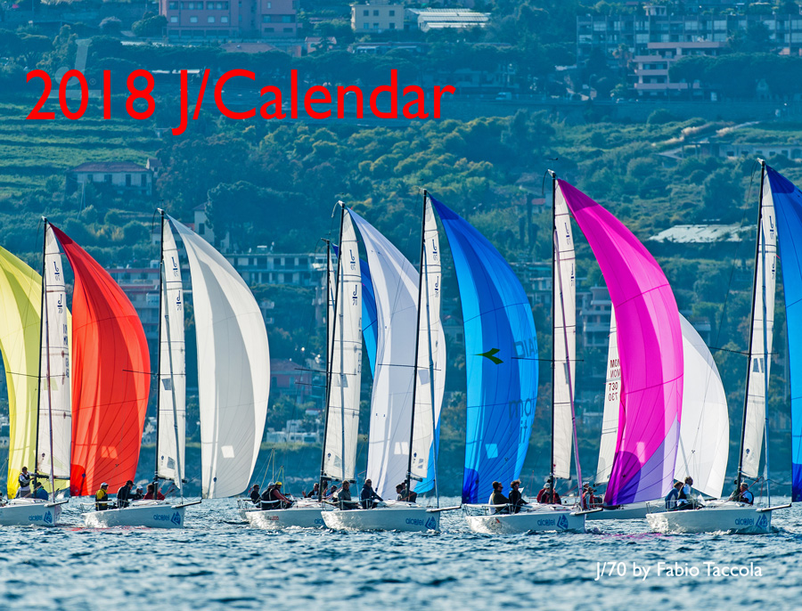 J/Boats Sailing Wall Calendar