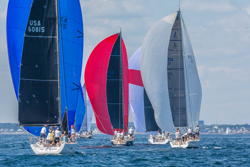 J/Boats sailing Marblehead