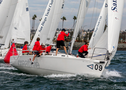 J/105 team- St Francis YC at Lipton Cup
