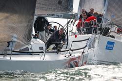 J/109s sailing Hamble Winter Series