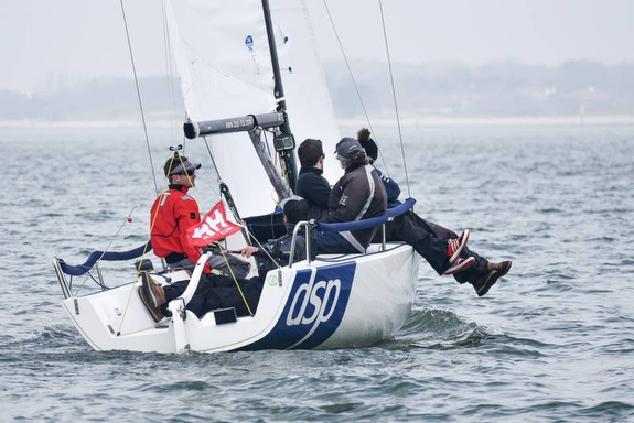 J/70 DSP winning - Helly Hansen Warsash Spring series