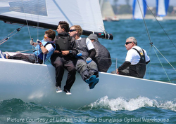 J/70s sailing San Diego Yachting Cup