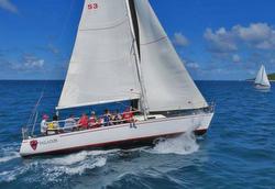 J/36 Paladin sailing Caribbean