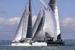 J/111 McFly sailing UK Nationals