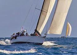 J/145 sailing Caribbean 600