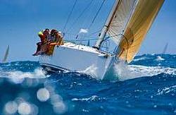 J/122 sailing St Barths regatta