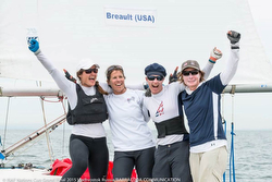 J sailor Nicole Breault wins ISAF Nations Cup