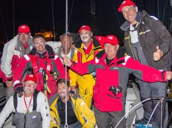 J/111 JAKE crew winning Melbourne Offshore race