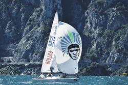 J/24 Worlds- W Welles Champion- Lake Garda, Italy