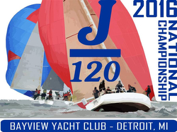 J/120 Nationals poster